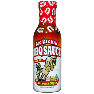 Ass Kickin' BBQ Sauce Arizona style Mild - 384ml