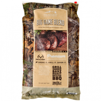 TRAEGER PELLETS 16KG Big Game Blend