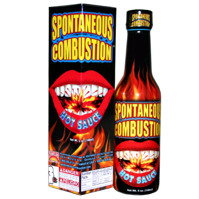 Spontaneous Combustion Hot sauce148ml